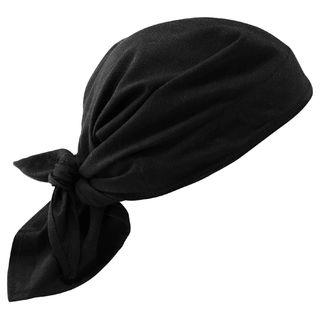 Ergodyne 12585 6710CT  Black Evap. Cooling Triangle Hat w/CT