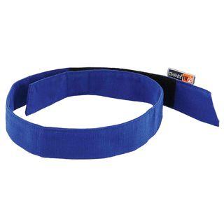 Ergodyne 12617 6705FR  Blue Evaporative FR Cooling Bandana-H&L