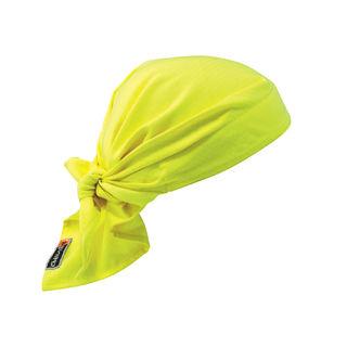 Ergodyne 12621 6710FR  Lime Evap. FR Cooling Triangle Hat