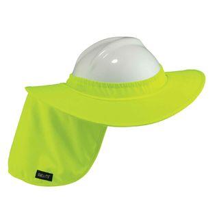 Ergodyne 12640 6660  Lime Hard Hat Brim with Shade