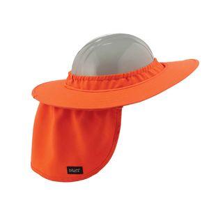 Ergodyne 12641 6660  Orange Hard Hat Brim with Shade