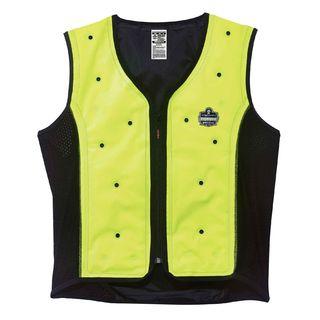 Ergodyne 12678 6685 4XL Lime Dry Evaporative Cooling Vest