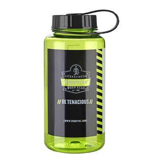 Ergodyne 13153 5151 1 ltr Lime Plastic Wide Mouth Water Bottle