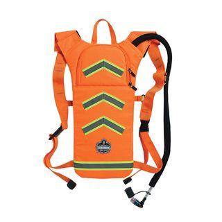 Ergodyne 13157 5155 2 ltr Orange Hi-Vis Low Profile Hydration Pack