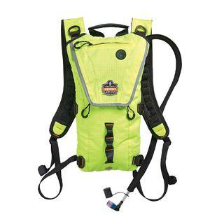 Ergodyne 13162 5156 3 ltr Hi-Vis Lime Premium Low Profile Hydration Pack