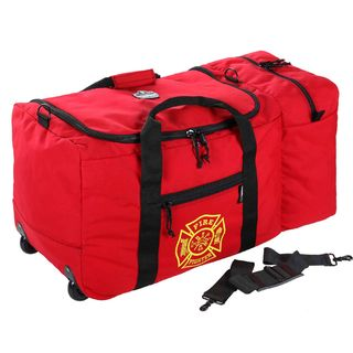 Ergodyne 13205 5005W  Red Wheeled Fire & Rescue Gear Bag