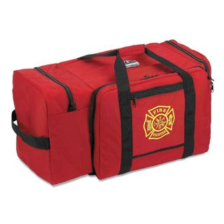 Ergodyne 13305 5005P  Red Large Fire & Rescue Gear Bag - Polyester
