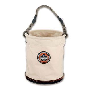 Ergodyne 14433 5733 L White Large Plastic Bottom Bucket