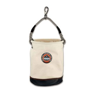 Ergodyne 14440 5740  White Leather Bottom Bucket-Swivel