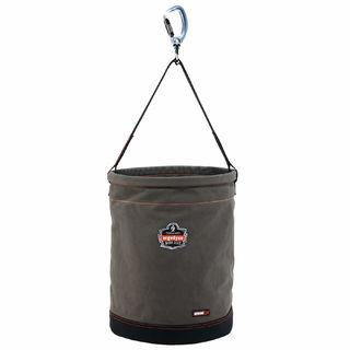 Ergodyne 14945 5945 XL Gray Swiveling Carabiner Canvas Hoist Bucket