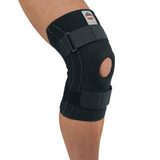 Ergodyne 16546 620 2XL Black Knee Sleeve w/ Open Patella/Spiral Stays