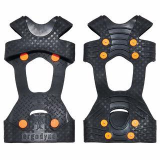 Ergodyne 16734 6300TC L Black One-Piece Ice Traction Device with TC