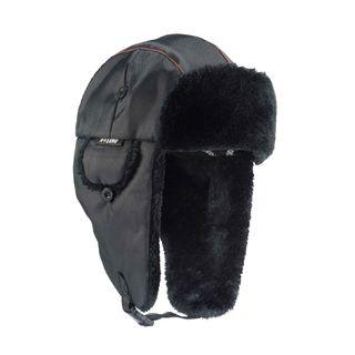 Ergodyne 16843 6802 S/M Black Classic Trapper Hat