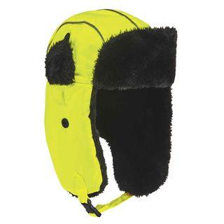 Ergodyne 16853 6802 S/M Lime Classic Trapper Hat