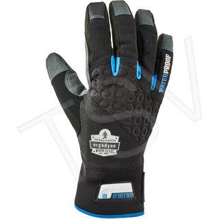 Ergodyne 17372 817WP Reinforced Thermal Waterproof Utility Gloves, Size S