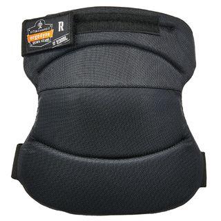 Ergodyne 18231 230HL  Black Wide Soft Cap Knee Pads - H&L