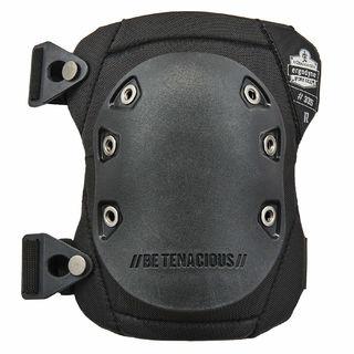 Ergodyne 18335 335  Black Cap Slip Resistant Rubber Cap Knee Pads