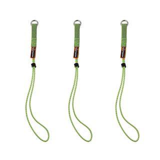Ergodyne 19769 3703 Extended Lime Elastic Loop Tool Tails Ext - 15lbs 3-pack