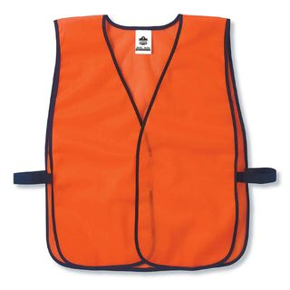 Ergodyne 20010 8010HL  Orange Non-Certified Economy Vest
