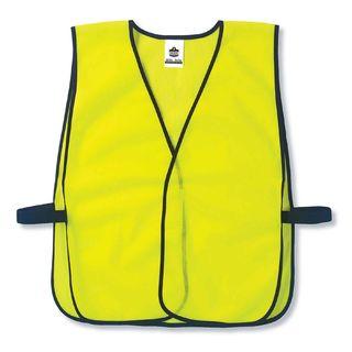 Ergodyne 20020 8010HL  Lime Non-Certified Economy Vest