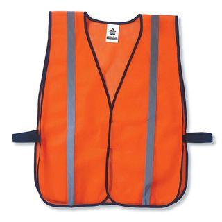 Ergodyne 20030 8020HL  Orange Non-Certified Standard Vest