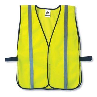Ergodyne 20040 8020HL  Lime Non-Certified Standard Vest