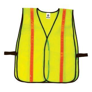Ergodyne 20080 8040HL  Lime Non-Certified Hi-Gloss Vest