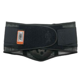 Ergodyne 20185 1051 L Black Mesh Back Support w/Lumbar Pad