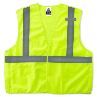 Ergodyne 21077 8215BA 2XL/3XL Lime Type R Class 2 Econo Breakaway Mesh Vest