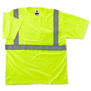 Ergodyne 21501 8289 XS Lime Type R Class 2 T-Shirt