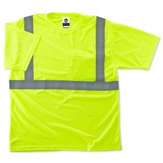 Ergodyne 21508 8289 4XL Lime Type R Class 2 T-Shirt