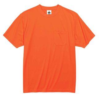 Ergodyne 21568 8089 4XL Orange Non-Certified T-Shirt