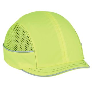 Ergodyne 23331 8950 Micro Brim Lime Bump Cap