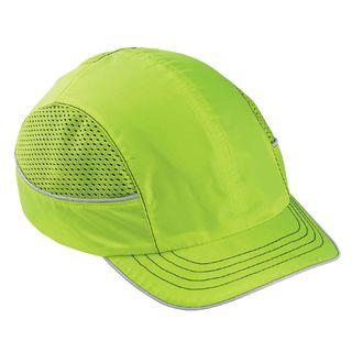 Ergodyne 23333 8950 Short Brim Lime Bump Cap