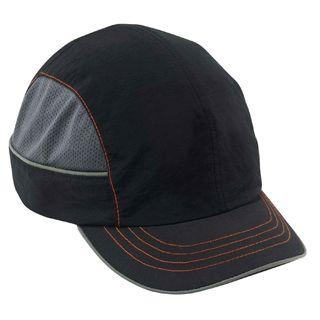 Ergodyne 23340 8950 Short Brim Black Bump Cap
