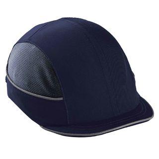 Ergodyne 23341 8950 Micro Brim Navy Bump Cap
