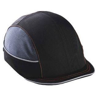 Ergodyne 23342 8950 Micro Brim Black Bump Cap