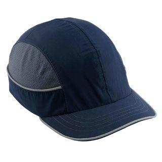 Ergodyne 23343 8950 Short Brim Navy Bump Cap