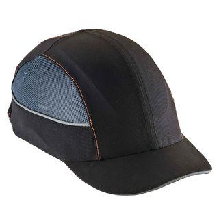 Ergodyne 23370 8960 Short Brim Black Bump Cap w/ LED Lighting Technology