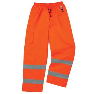 Ergodyne 24449 8925 5XL Orange Class E Thermal Pants