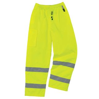Ergodyne 24455 8925 XL Lime Class E Thermal Pants