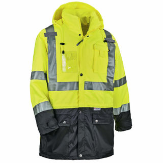 Ergodyne 25377 8386 3XL Lime Type R Class 3 Outer Shell Jacket