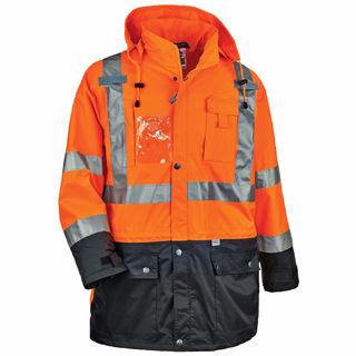 Ergodyne 25467 8386 3XL Orange Type R Class 3 Outer Shell Jacket