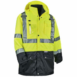 Ergodyne 25537 8388 3XL Lime Type R Class 3/2 Thermal Jacket Kit