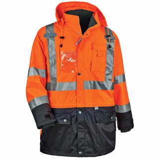 Ergodyne 25557 8388 3XL Orange Type R Class 3/2 Thermal Jacket Kit