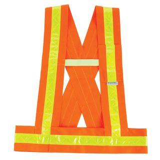 Ergodyne 27017 8140BA M/L Orange Type O Class 1 Breakaway Sash