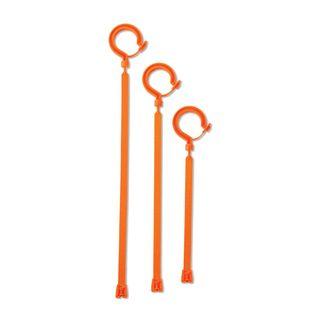 Ergodyne 33402 3540 Short Orange Large Locking Hook