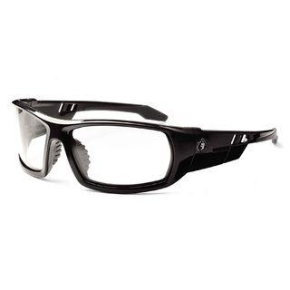 Ergodyne 50003 ODIN Anti-Fog Clear Lens Black Safety Glasses