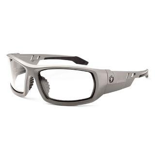 Ergodyne 50100 ODIN Clear Lens Matte Gray Safety Glasses