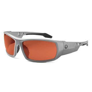 Ergodyne 50121 ODIN Polarized Copper Lens Matte Gray Safety Glasses
